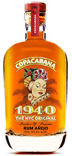 Copacabana 1940 Rum Anejo The Nyc Original 750ml